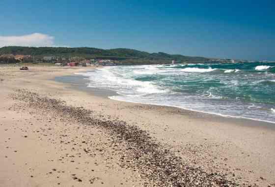 La spiaggia di Platamona. Il luogo piano
